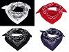 Bavlněný šátek paisley 55x55 cm