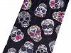 Multifunkční šátek pružný, bezešvý lebky