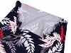 Šátek včetně roušky 2v1 vzorovaný