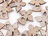 Aniołek drewniany samoprzylepny