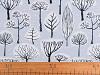 Dekorační látka Loneta stromy