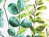 Bavlněná látka listy