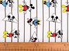 Bavlněný licenční úplet Mickey  Mouse / Minnie