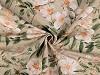 Tkanina dekoracyjna Loneta kwiaty