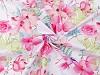 Bavlnená látka kvety