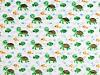 Minky cu buline 3D țestoase