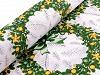Tkanina bawełniana wianek świąteczny