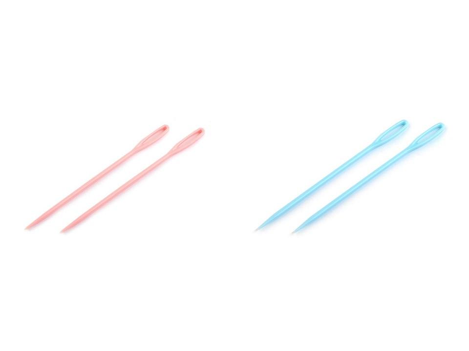 Plastové jehly délka 75 mm tupé 10 ks