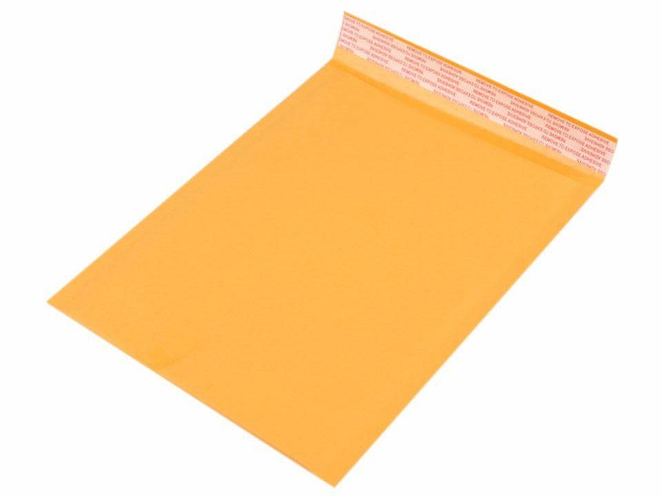Pevná papírová obálka 23x29,7 cm s bublinkovou fólií uvnitř 10 ks