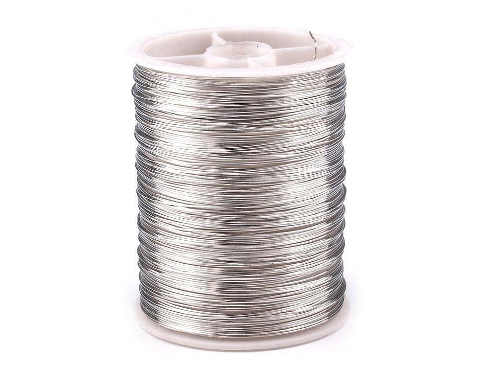 Dekorační drátek Ø0,3 mm, návin 10 m 1 ks