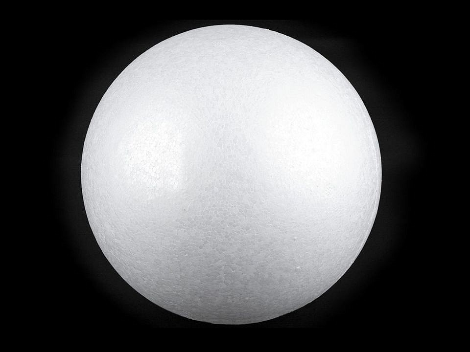 Koule Ø20 cm polystyren 1 ks