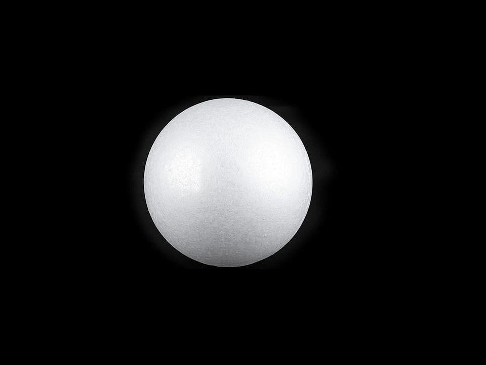 Koule Ø3,3-3,5 cm polystyren 100 ks
