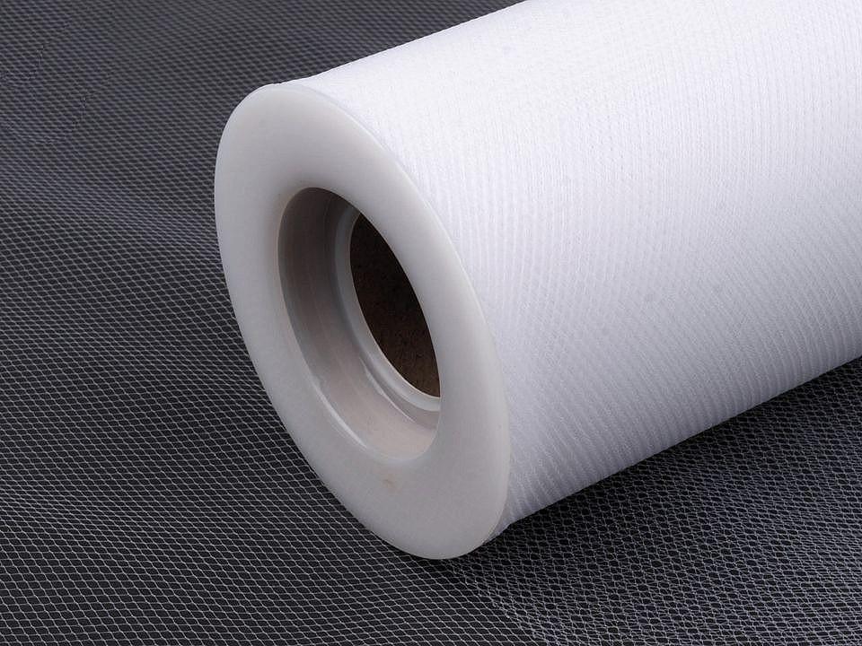 Tyl / stuha dekorační šíře 15 cm 1 ks