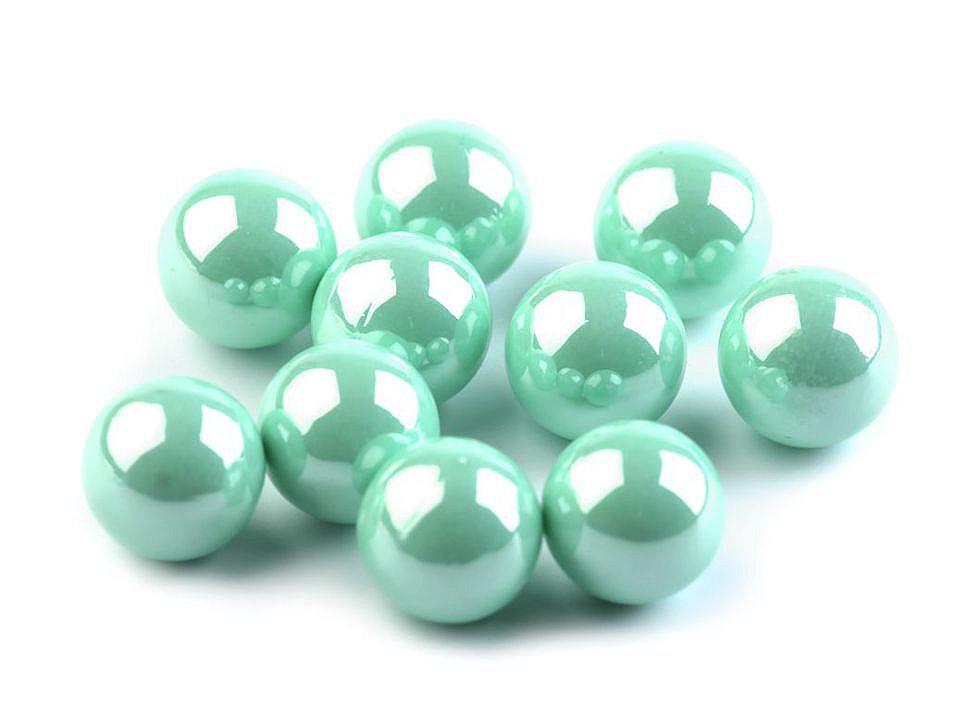 Dekorační kuličky / perly bez dírek Ø8 mm lesklé 500 ks