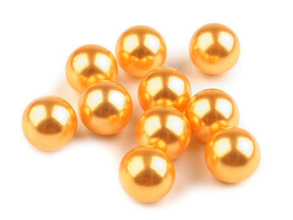 Dekorační kuličky / perly bez dírek Ø10 mm 10 ks