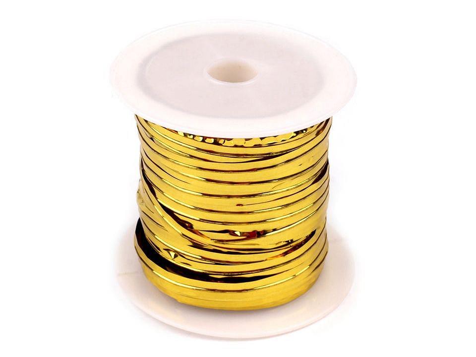 Dekorační drát šíře 3 mm 1 ks
