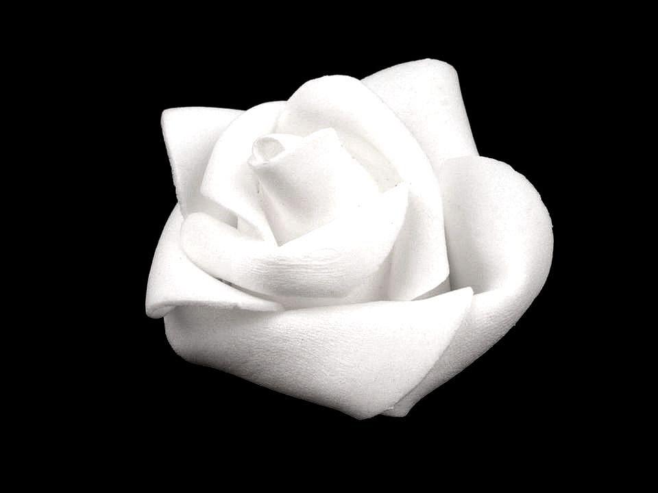 Dekorační pěnová růže Ø4,5 cm 10 ks
