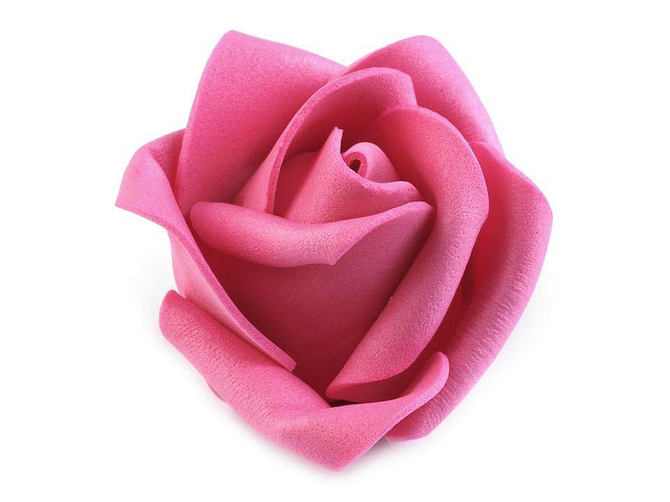 Dekorační pěnová růže Ø4,5 cm 30 ks