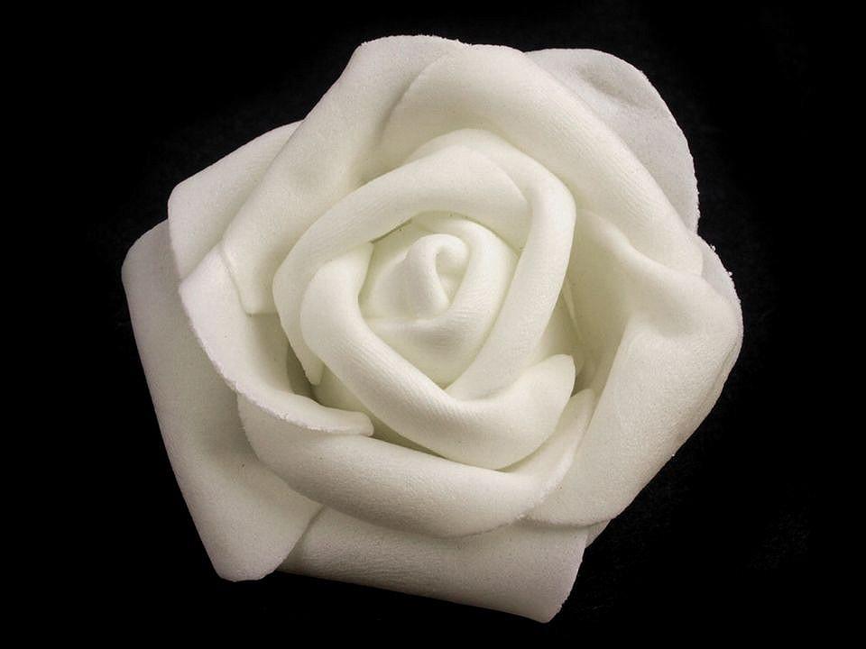 Dekorační pěnová růže Ø6 cm 10 ks