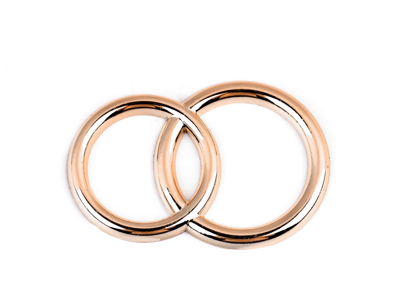 Dekorační prsteny 10 ks