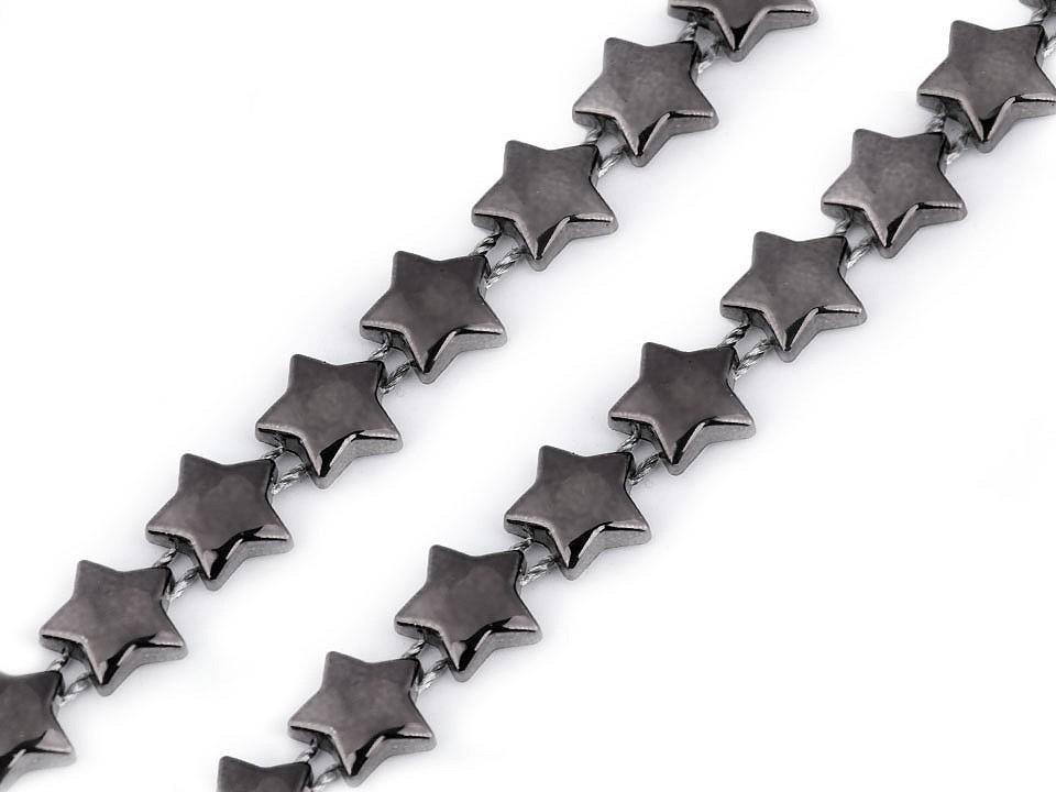 Řetěz - hvězdy šíře 10 mm 45 ks
