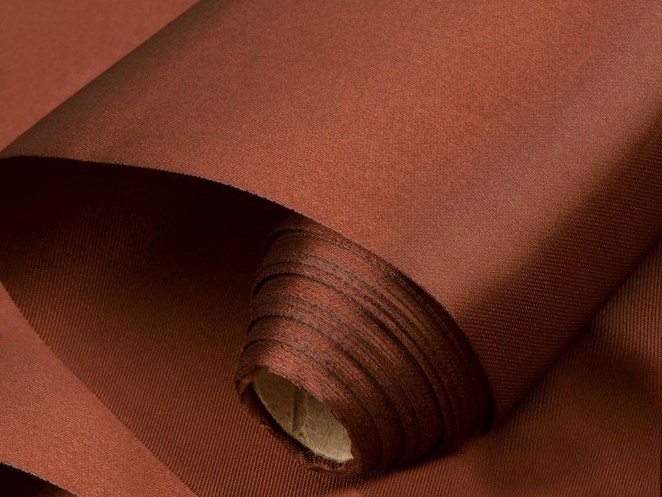 Satén jednostranný šíře 36 - 37 cm 9 ks