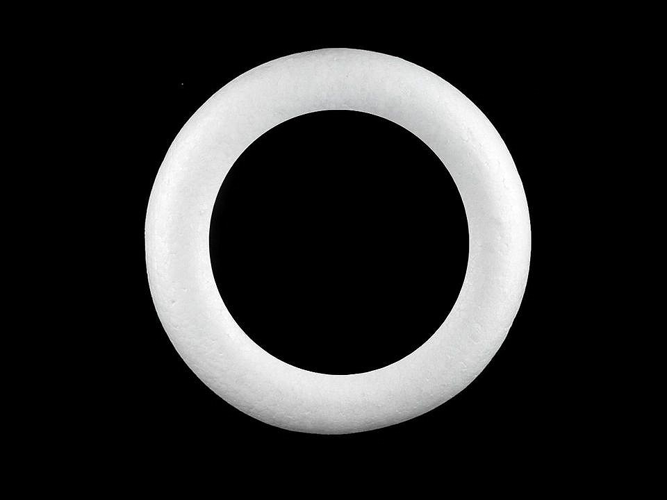 Věnec Ø20 cm polystyren 1 ks