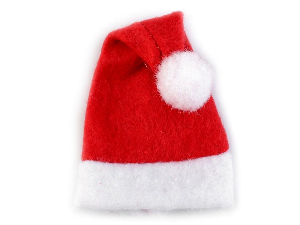 Mini vánoční čepice 100 ks