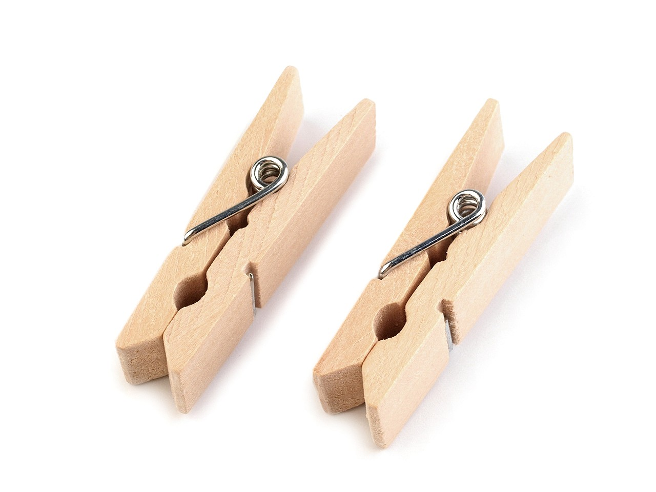 Dřevěný kolíček jednobarevný 11x45 mm 10 ks