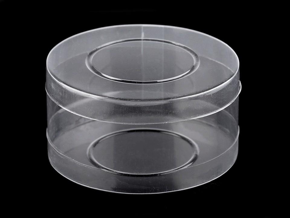 Plastová krabička / dóza Ø98 mm 1 ks