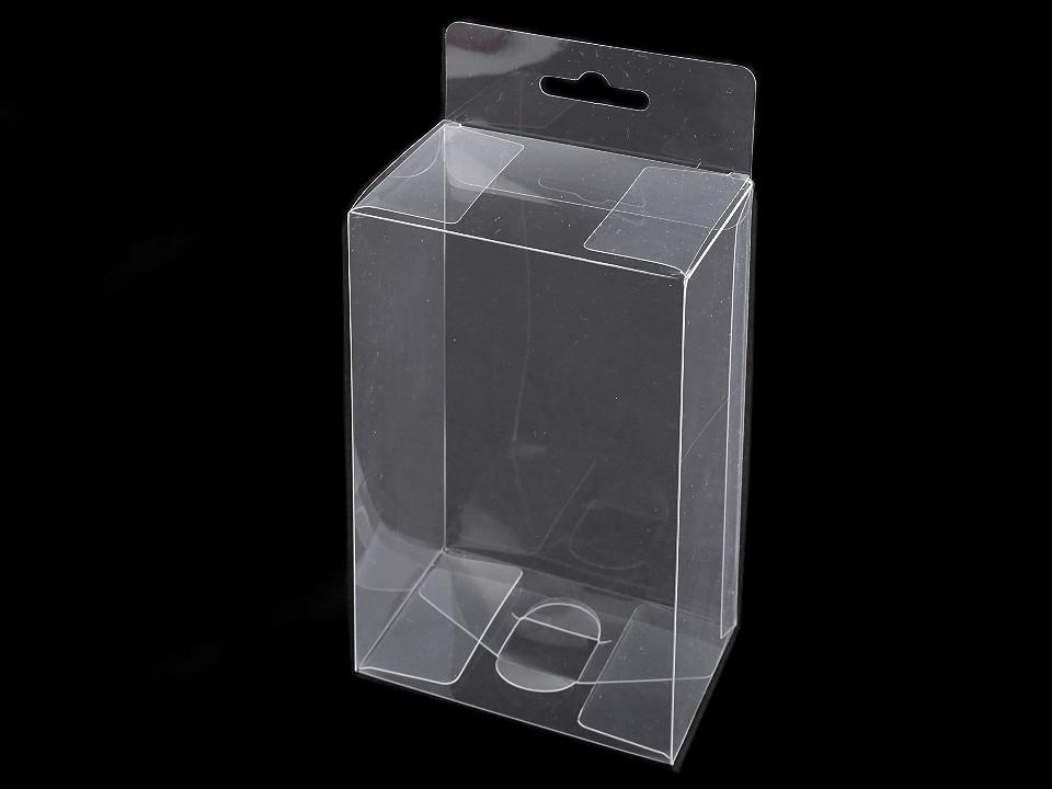 Plastová krabička k zavěšení 20 ks