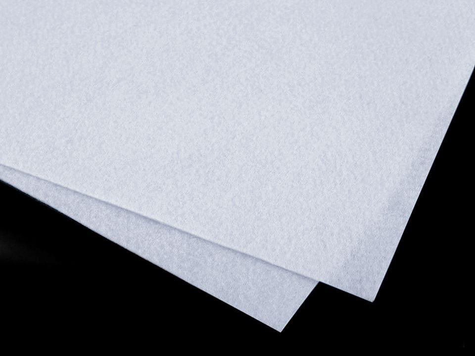 Látková dekorativní plsť / filc soft 30x30 cm 12 ks