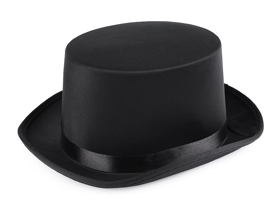 Dekorační klobouk / cylindr k dozdobení 1 ks