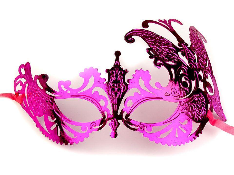 Karnevalová maska - škraboška 1 ks
