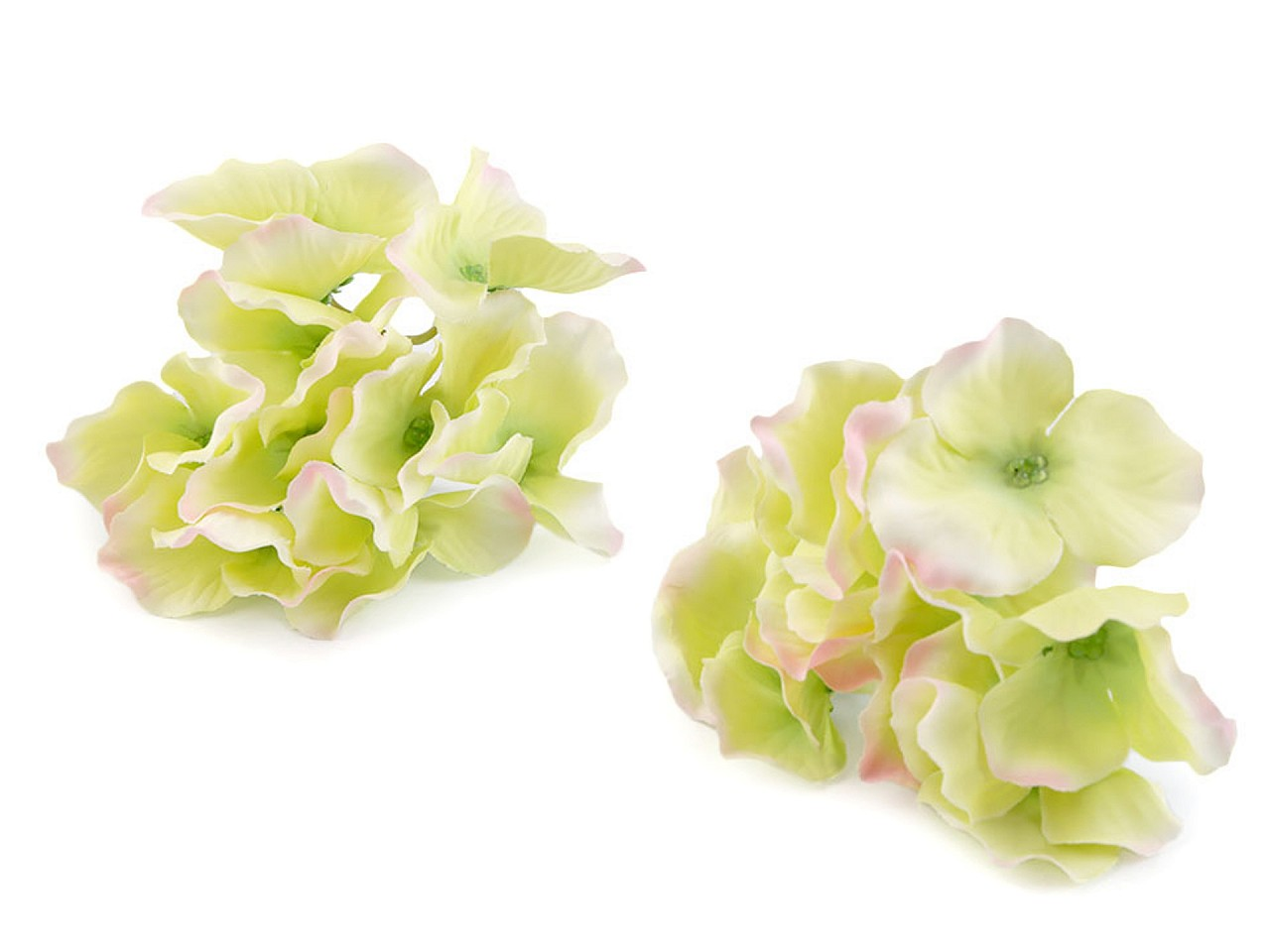 Umělé květy hortenzie 12 ks