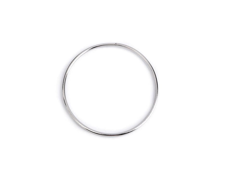Kovový kruh na lapač snů / k dekorování Ø10,5 cm 1 ks
