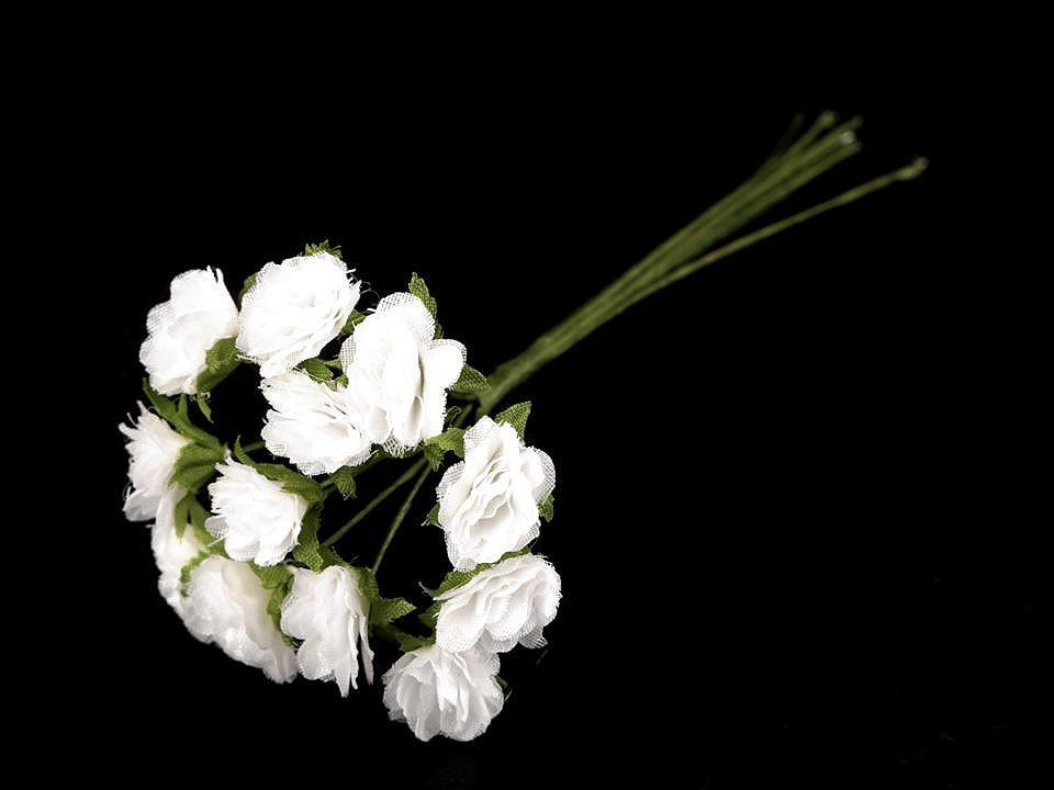 Květ na drátku / polotovar na vývazky Ø10-15 mm 1 ks