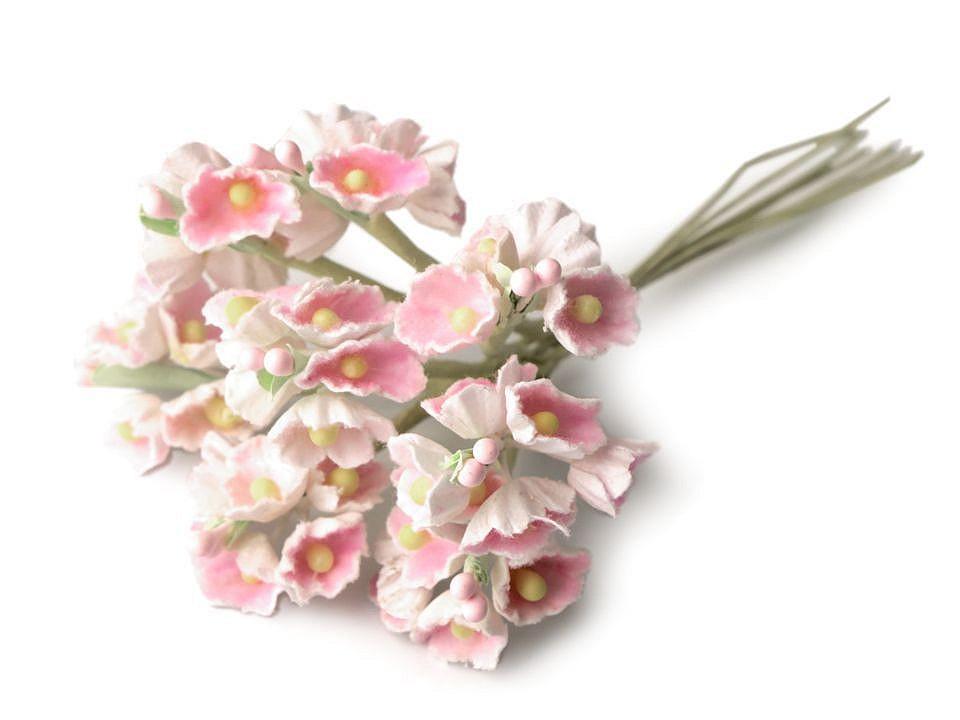 Květ na drátku / polotovar na vývazky Ø25 mm 1 ks