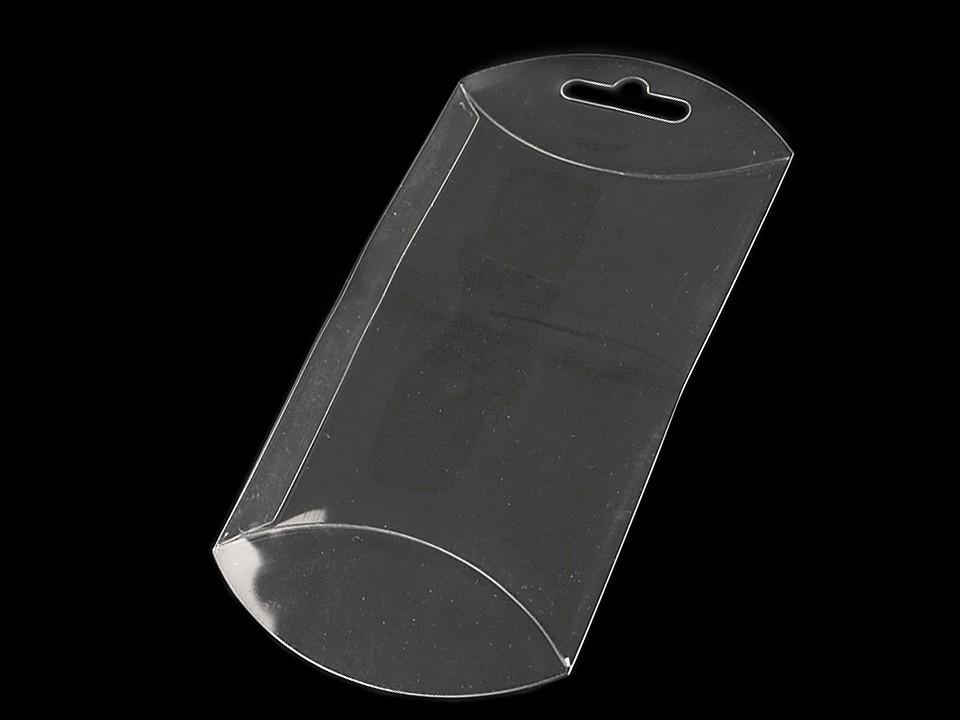 Plastová krabička k zavěšení 7x12 cm 10 ks