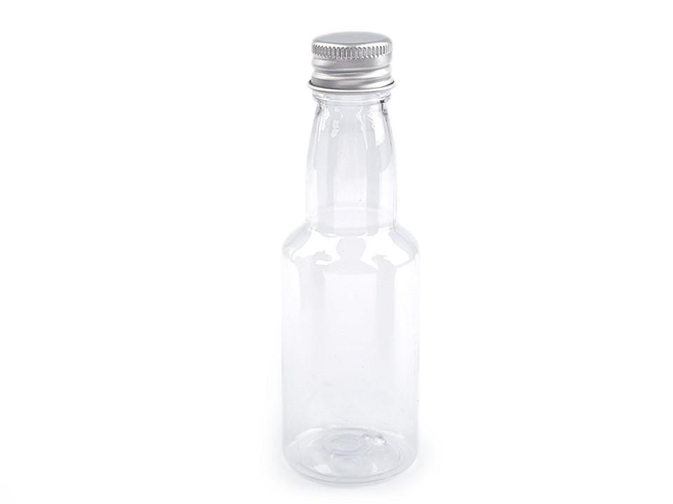 Plastová lahvička se šroubovacím víčkem 1 ks