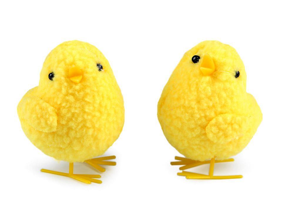 Velikonoční dekorace kuře velké 2 ks
