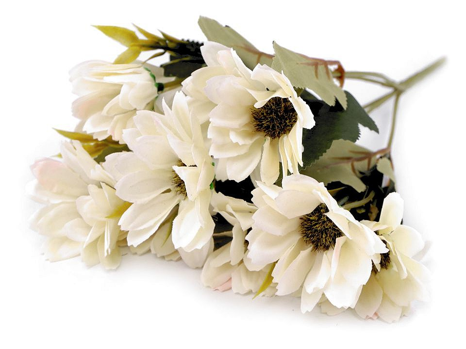 Umělá kytice chryzantéma 1 ks