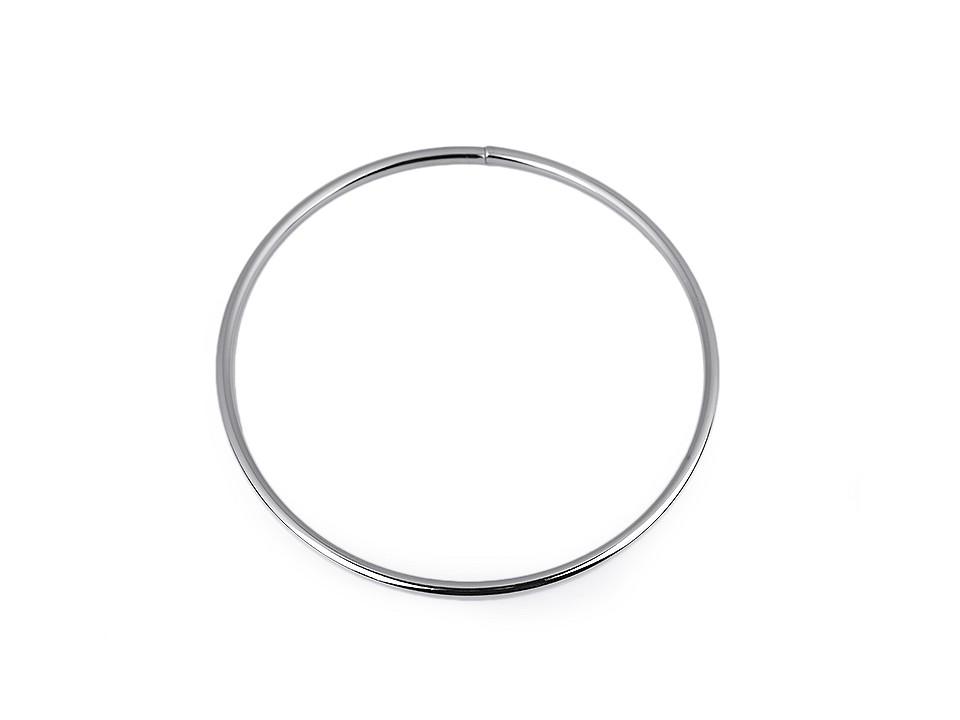 Kovový kruh na lapač snů / k dekorování Ø13,5 cm 1 ks
