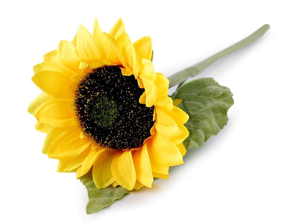 Umělá slunečnice 1 ks