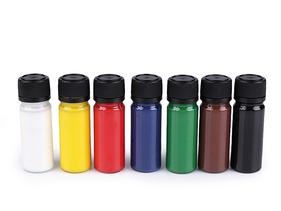 Sada barev na textil Art e Miss; na světlý a tmavý textil, svítící ve tmě, neon 1 ks