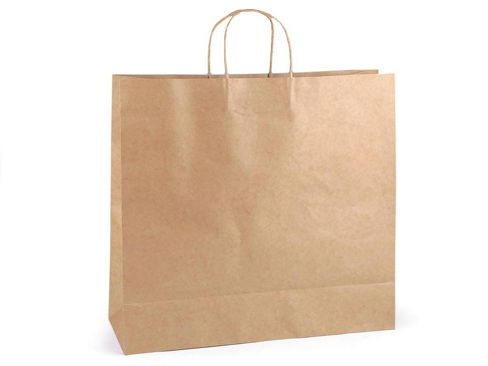 Papírová taška natural 40x43 cm 25 ks
