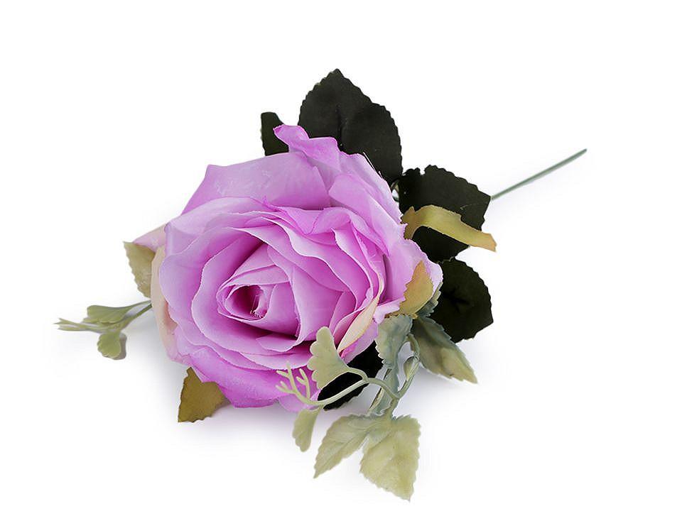 Umělá růže 1 ks