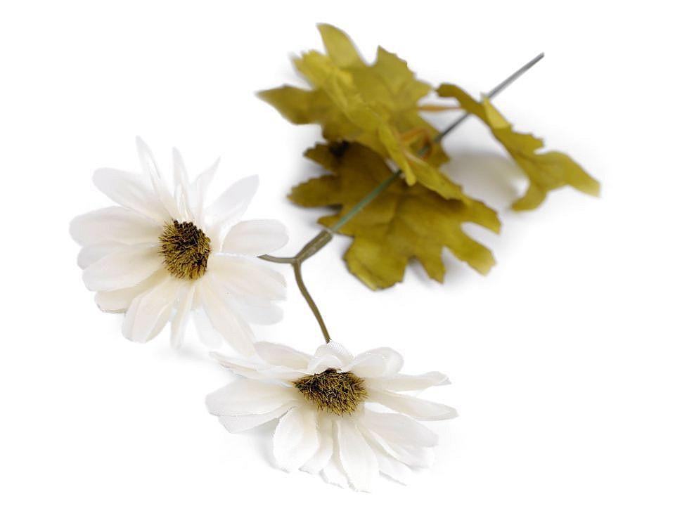 Umělá chryzantéma k aranžování 1 ks