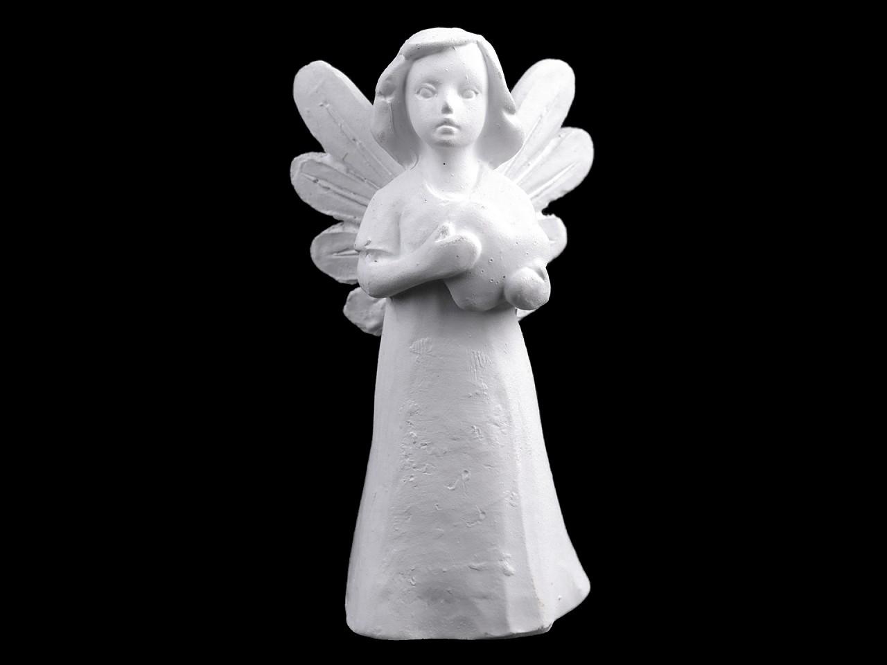 Dekorace anděl 1 ks