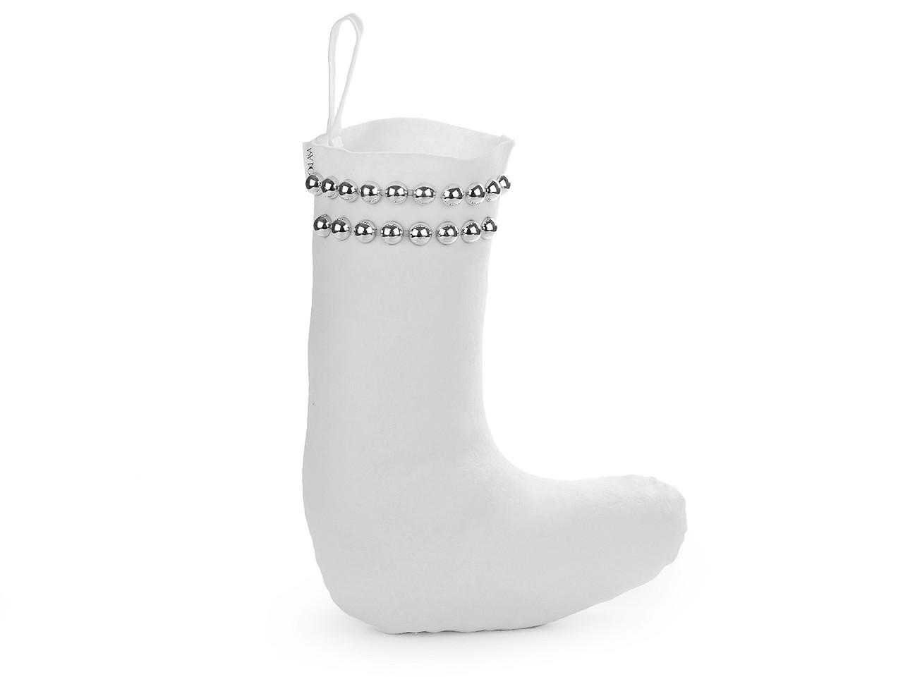 Mikulášská / vánoční bota 1 ks